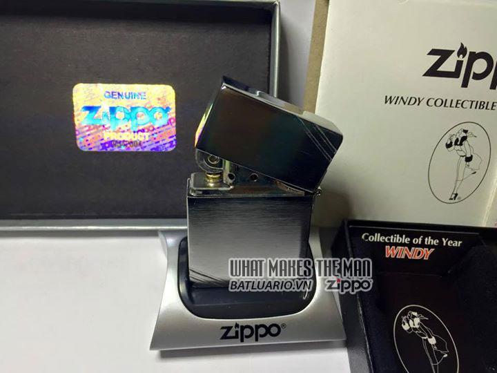 ZIPPO COTY 2013 - Zippo Coty 2013 Windy Girl 5