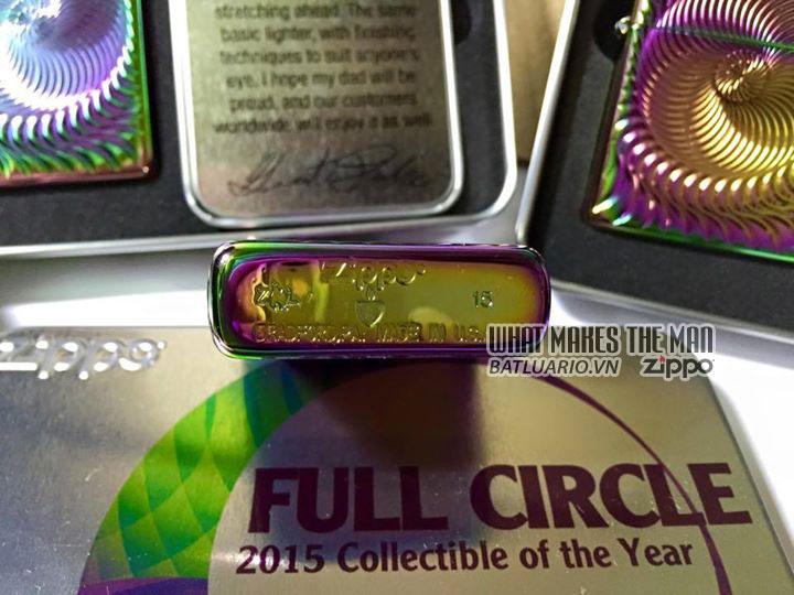 ZIPPO COTY 2015 - Zippo Full Circle 8