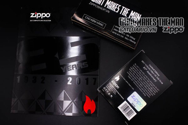 ZIPPO COTY 2017 - ZIPPO 85TH ANNIVERSARY COLLECTIBLE OF THE YEAR 2017 2