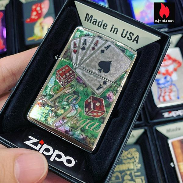 Zippo 250 Fuzion Casino Cards 1