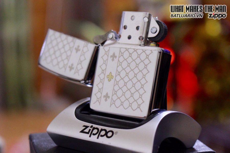 ZIPPO 250 FLEUR DE LIS 2