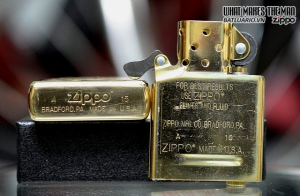 Ruột Zippo mới chính hãng USA – màu vàng