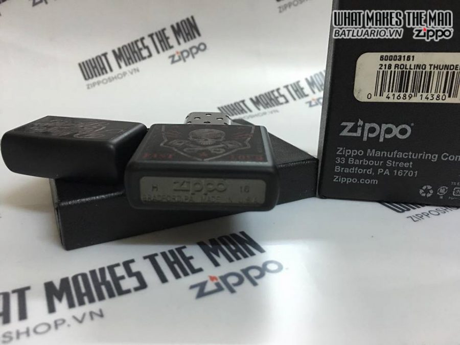 ZIPPO 218 ROLLING THUNDER