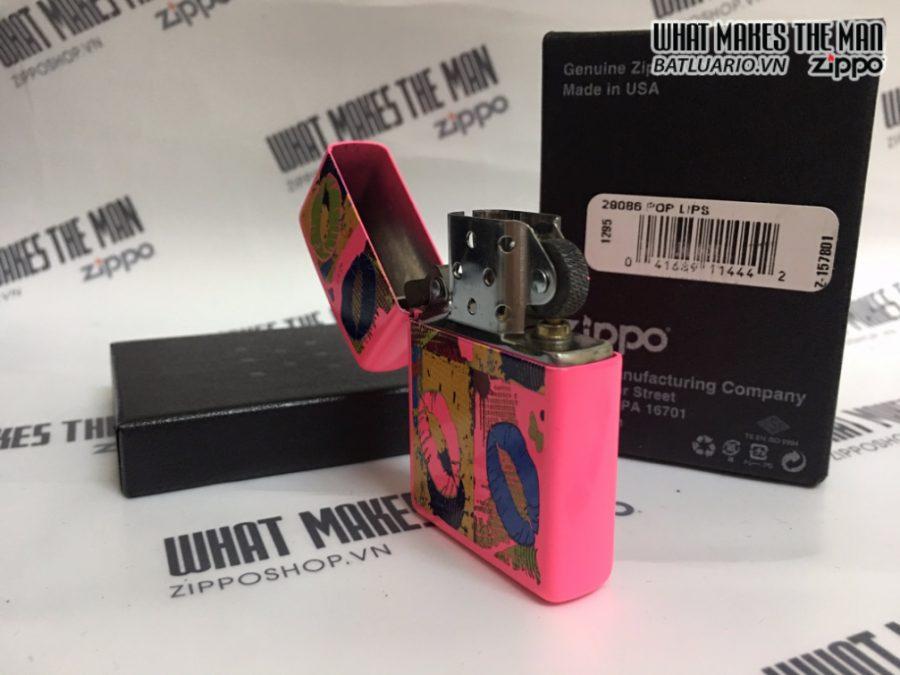 Zippo 29086 - Zippo Pop Lips Neon Pink