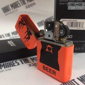 Zippo 29343 - Zippo Beer Bear Neon Orange