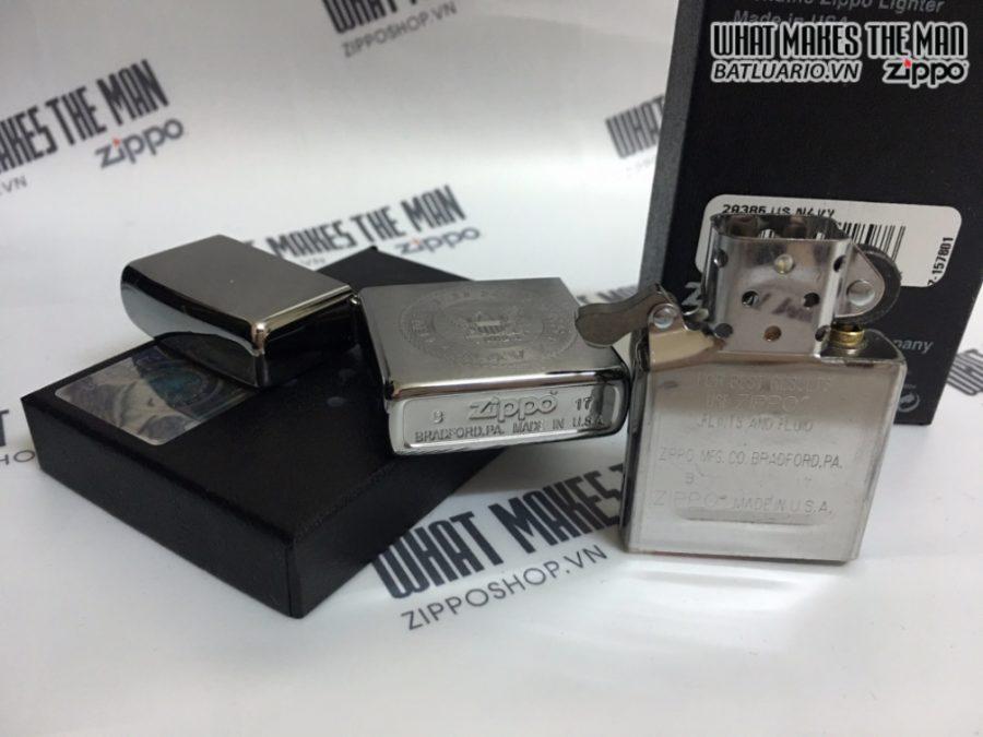 Zippo 29385 - Zippo US Navy Crest Brushed Chrome