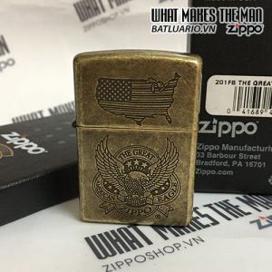 ZIPPO 201FB THE GREAT AMERICAN EAGLE