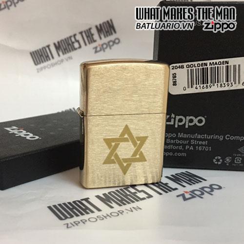 ZIPPO 204B GOLDEN MAGEN
