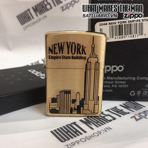 ZIPPO 204B NEW YORK EMPIRE STATE BUILDING