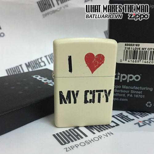ZIPPO 216 I LOVE MY CITY