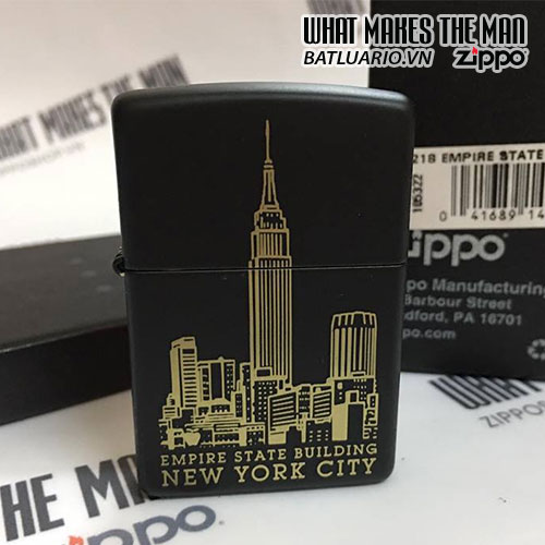 ZIPPO 218 EMPIRE STATE BUILDING NEW YORK CITY