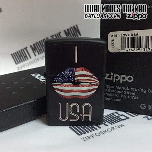 ZIPPO 218 I LOVE USA