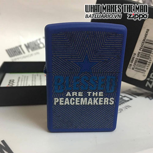 ZIPPO 229 BLESSED ARE PEACEMAKERS 2