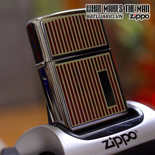ZIPPO 250 RED MARBLE