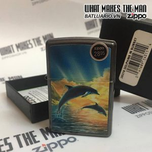 ZIPPO 28378 DOLPHINS IN SUNSET