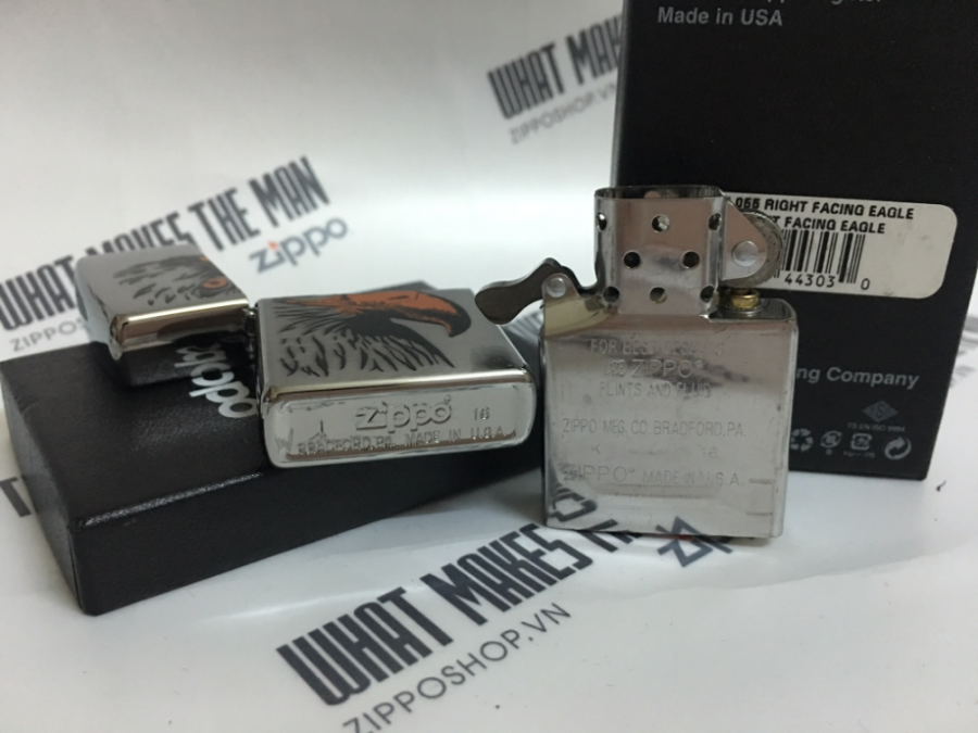ZIPPO 200 RIGHT RACING EAGLE 4