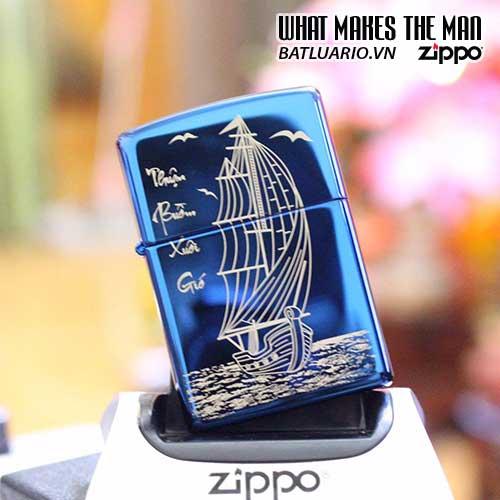 ZIPPO KHẮC LASER CHÂN DUNG 17 - ZIPPO 250.CD17