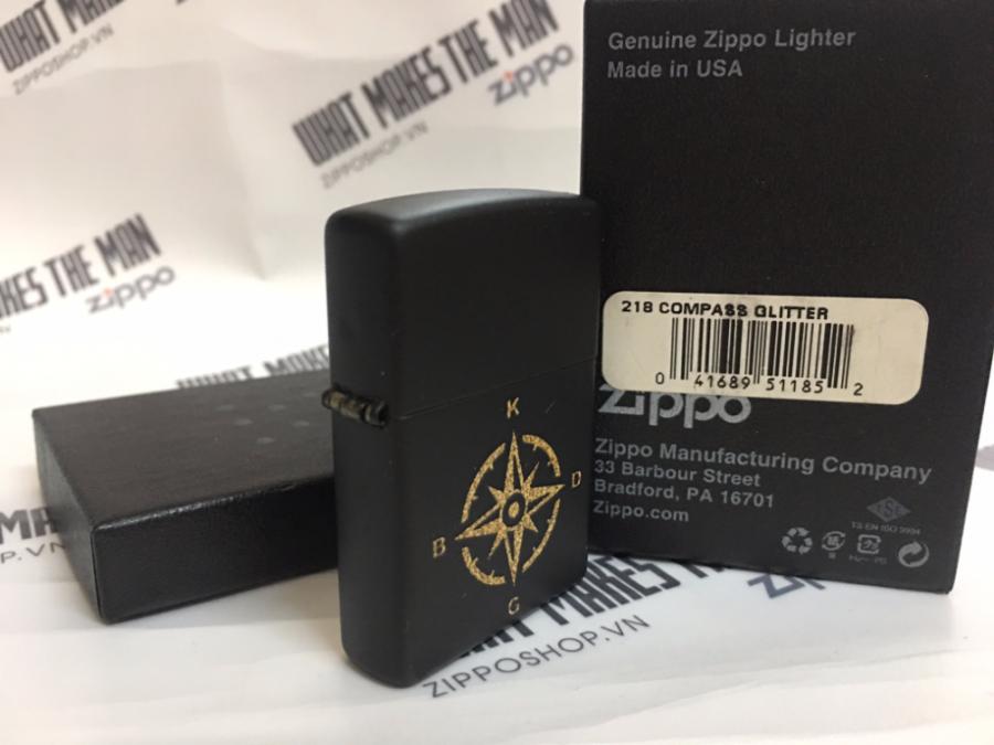 ZIPPO 218 COMPASS GLITTER 2