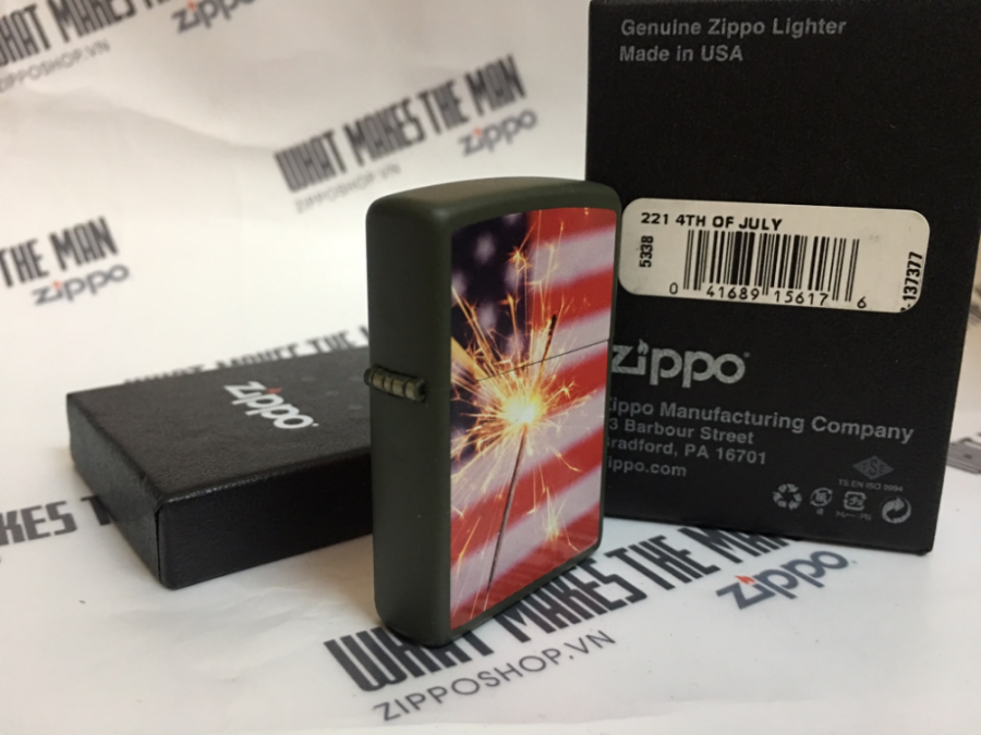 ZIPPO 221 4TH OF JULY 2