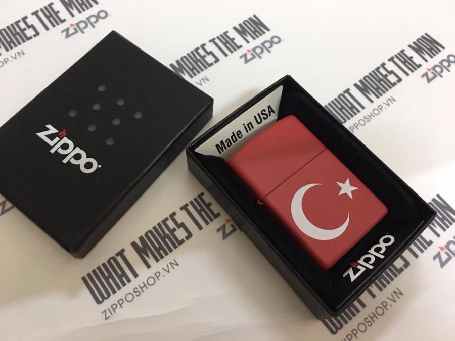 ZIPPO 233 TURKEY FLAG 1