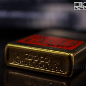ZIPPO GOLD DUST 2004 – EAT RIDE SLEEP 2