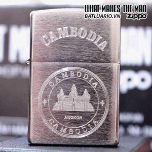 ZIPPO KHẮC CAMBODIA 11 - ZIPPO 200.CAM11