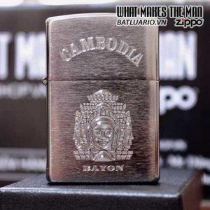 ZIPPO KHẮC CAMBODIA 14 - ZIPPO 200.CAM14