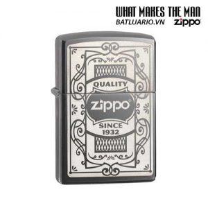 Zipp 29425 – Zippo Quality Zippo Black Ice