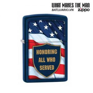 Zippo 29092 – Zippo All That Served Navy Matte