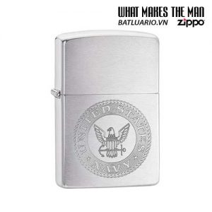 Zippo 29385 – Zippo US Navy Crest Brushed Chrome