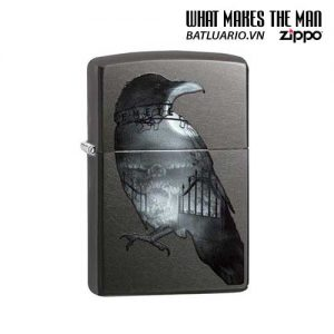 Zippo 29407 – Zippo Double Exposed Raven Gray Dusk