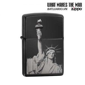 Zippo 29437 – Zippo Statue of Liberty Ebony