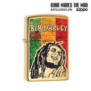 Zippo 29490 – Zippo Bob Marley Fusion High Polish Brass