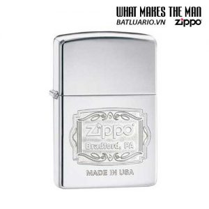 Zippo 29521 – Zippo Bradford PA High Polish Chrome
