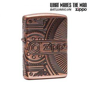 Zippo 29523 – Zippo Gears Armor® Antique Copper