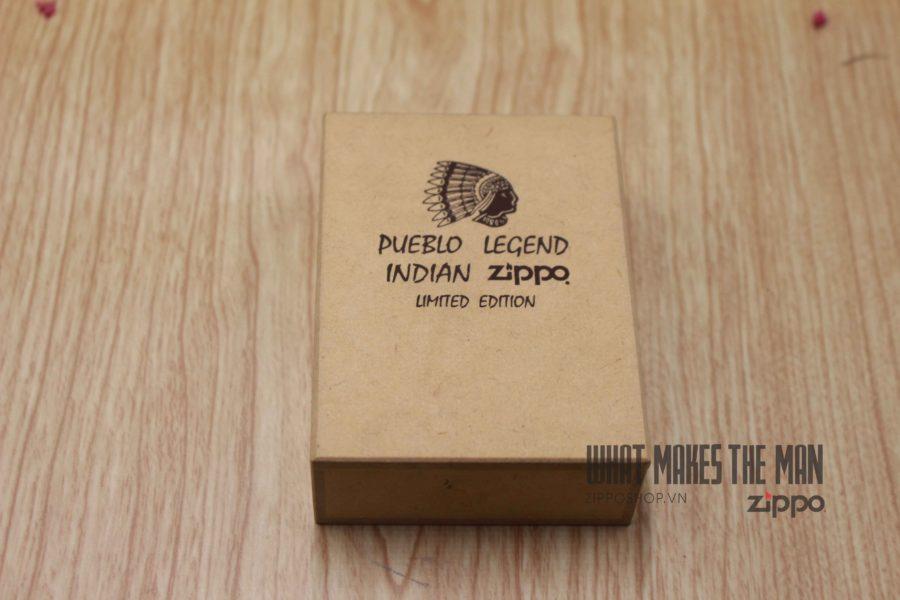 ZIPPO 1999 – INDIAN PUEBLO LEGEND – XUẤT NHẬT 2
