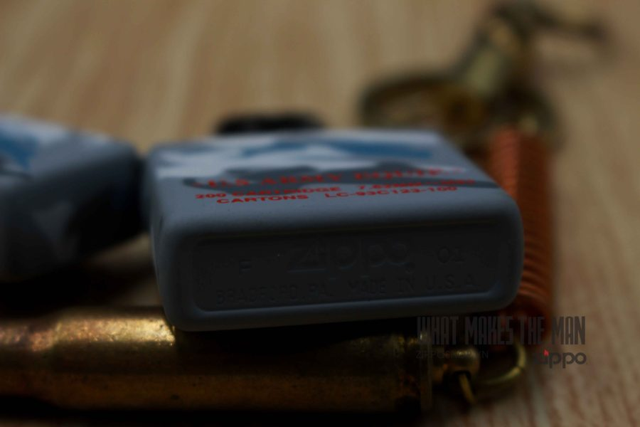 ZIPPO 2001 - CAMO - US ARMY EQUIP - XUẤT NHẬT 7