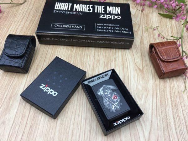 Zippo 29489 - Zippo Soa Emblem Black Matte 1