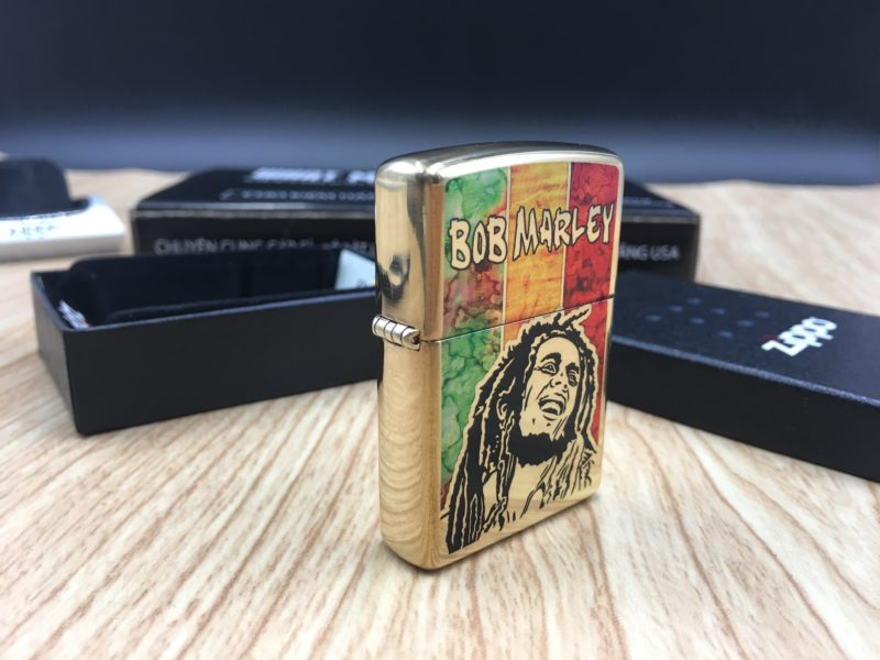 Zippo 29490 - Zippo Bob Marley Fusion High Polish Brass 10