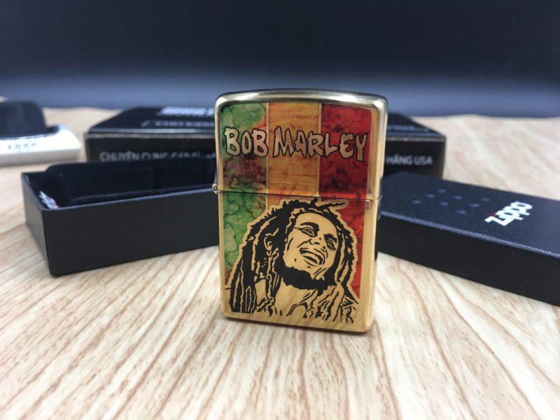 Zippo 29490 - Zippo Bob Marley Fusion High Polish Brass 9