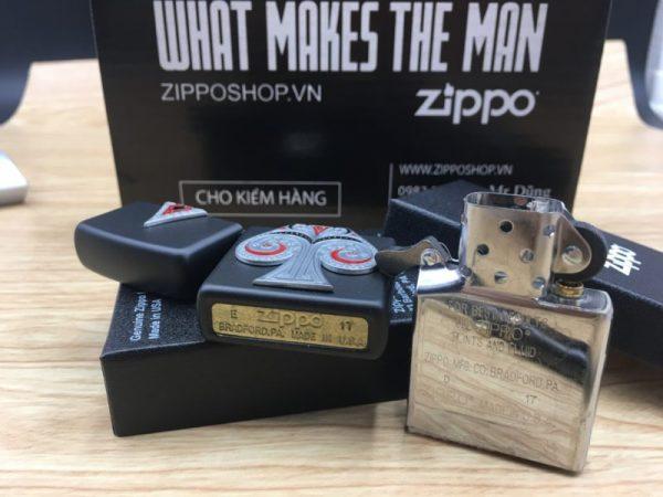 Zippo 29491 - Zippo Spade Emblem Black Matte 8