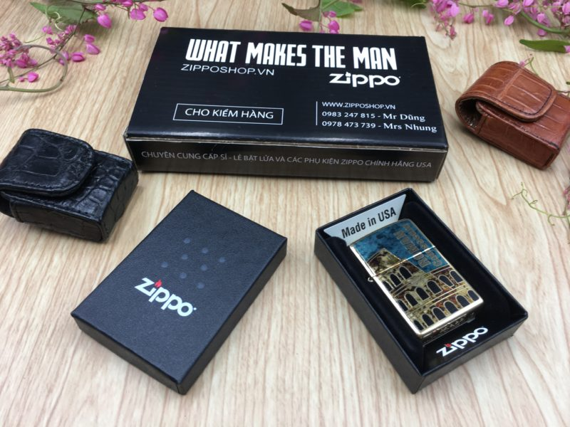 Zippo 29497 - Zippo Roman Colosseum Fusion 1