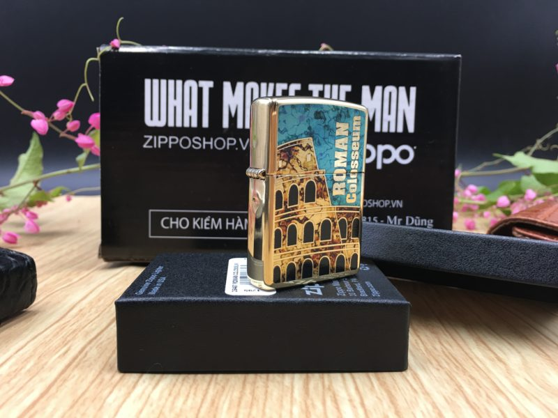 Zippo 29497 - Zippo Roman Colosseum Fusion 3