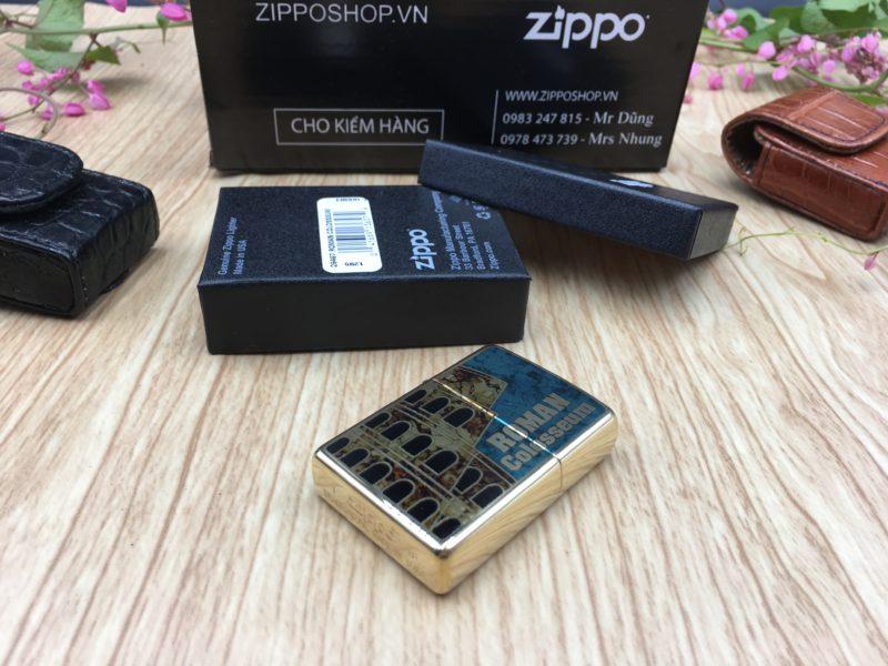 Zippo 29497 - Zippo Roman Colosseum Fusion 4