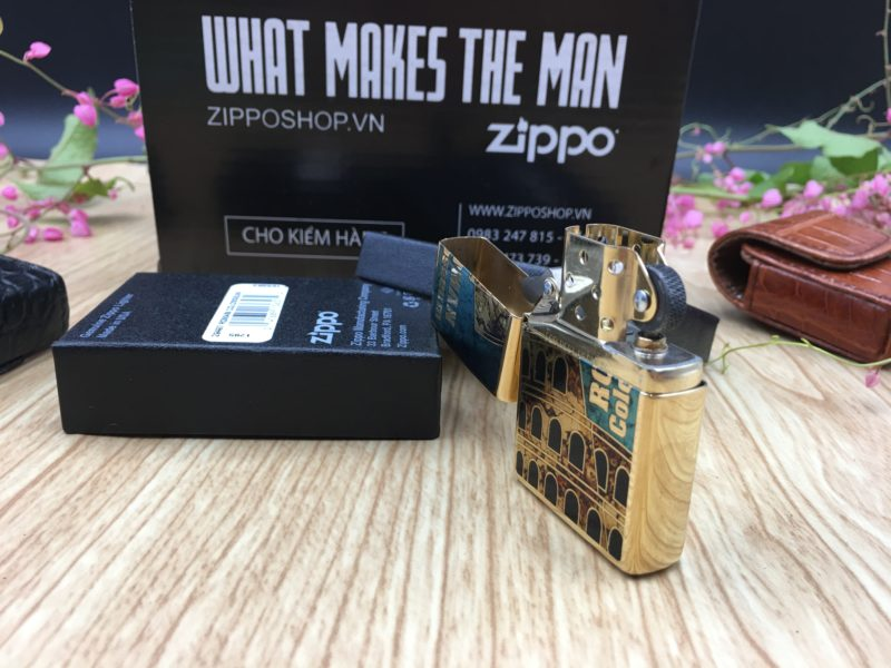 Zippo 29497 - Zippo Roman Colosseum Fusion 9