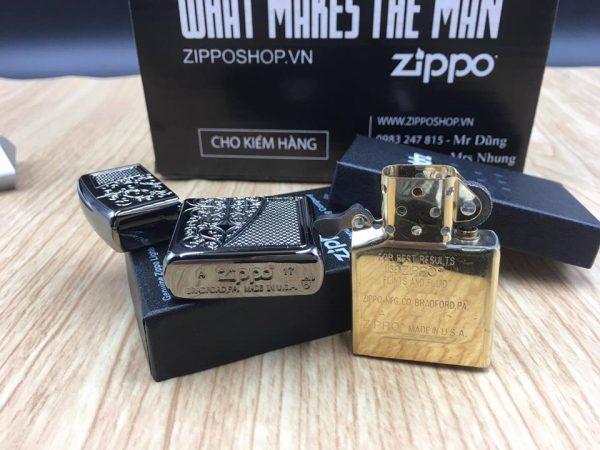Zippo 29498 - Zippo Armor™ Old Royal Filigree Black Ice 12