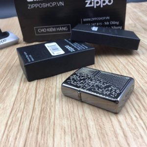 Zippo 29498 - Zippo Armor™ Old Royal Filigree Black Ice 16