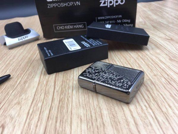 Zippo 29498 - Zippo Armor™ Old Royal Filigree Black Ice 16