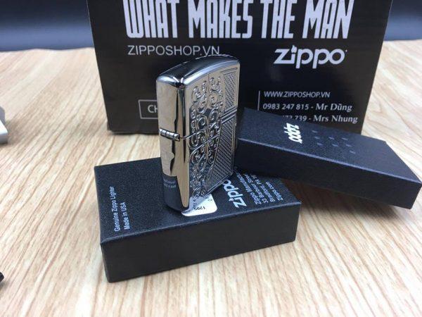 Zippo 29498 - Zippo Armor™ Old Royal Filigree Black Ice 8