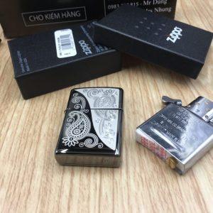 Zippo 29511 - Zippo Paisley Design Black Ice 8
